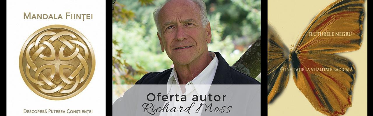 Colecția autor - Richard Moss - Mandala Ființei & Fluturele Negru